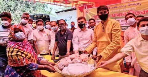 নলডাঙ্গায় জাতীয় পুষ্টি সপ্তাহে পুষ্টিকর খাবার বিতরণ
