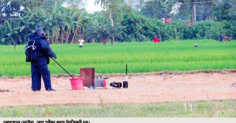 গুরুদাসপুরে চারটি শক্তিশালী তাজা বোমা নিষ্ক্রিয়