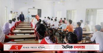 শিক্ষা প্রতিষ্ঠান পরিদর্শনে গুরুদাসপুর উপজেলা নির্বাহী কর্মকর্তা