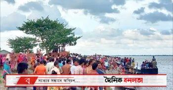 শিবগঞ্জে পদ্মায় নৌকা ডুবে ৩ জনের মৃত্যু, নিখোঁজ অনেকে